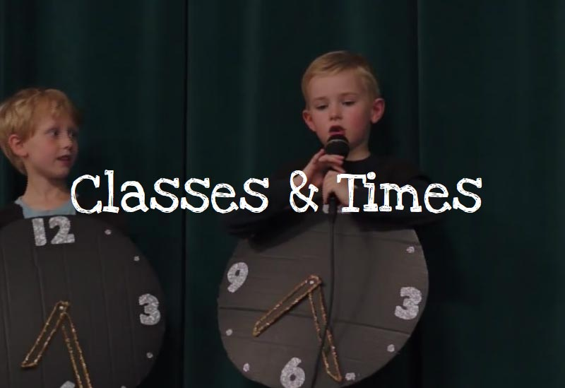 classes-and-times